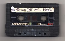The San Francisco Tape Music Festival, January 25-27 2013