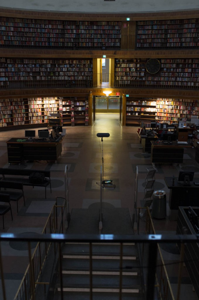 The Stockholm Public Library (thanks to Ewa for access)